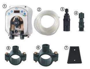 Pompe doseuse pour traitement oxygene actif pour piscine