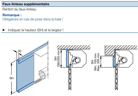 Hormann porte rollmatic enroulable motoris e et isol e for Porte de garage linteau reduit