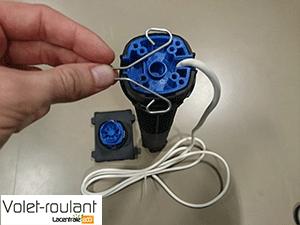 moteur bubendorff RG avec goupille retirée